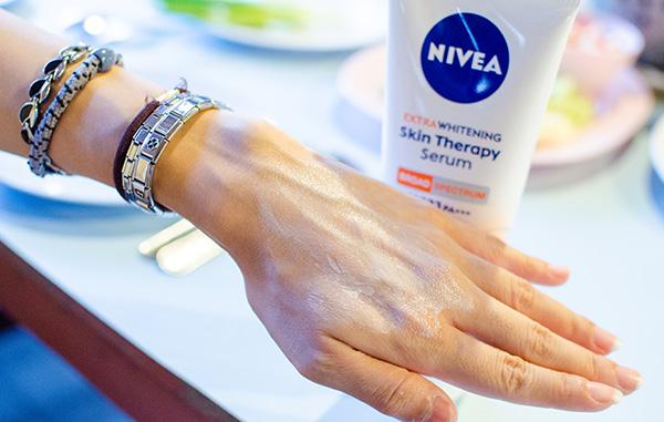 nivea,skin,whitening,therapy,serum,spf 33,กันแดด,ครีมกันแดด