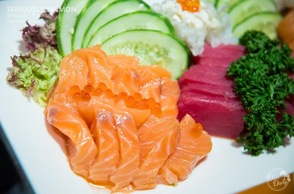เต็มอิ่มแซลมอน บุฟเฟ่ต์ Seriously Salmon